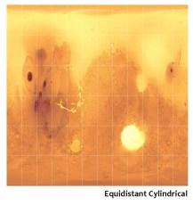 equidistant cylindrical