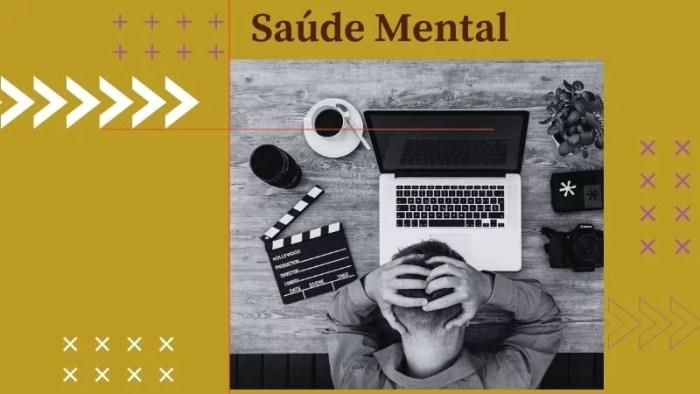 Falta de saúde mental causa pânico