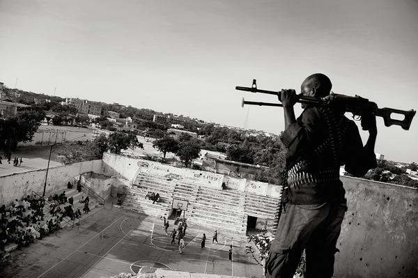 Koszykówka kobiet Mogadiszu, Somalia Fot.Emin Özmen
