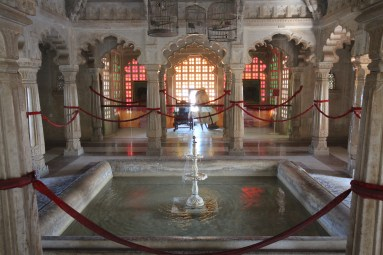 Inside the City Palace, Udaipur