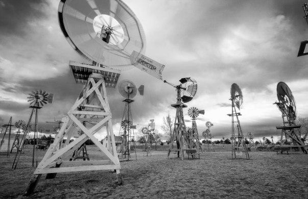 Shattuck windmills