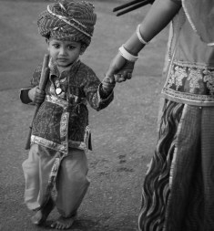 India festival little boy