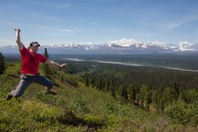 Mt. McKinley with Jeff Jumping