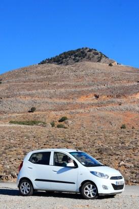 rental car gas prices crete