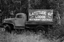 Sign near Talkeetna Alaska