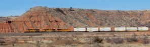 Train in the Gloss Mountains