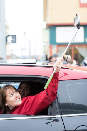 Fur Rondy Selfie Stick
