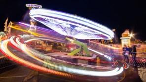 Fur Rondy Carnival long exposure
