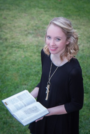 Sr. PIc with Bible
