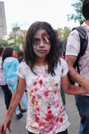Mexico City Zombie girl