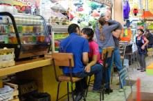 Kissing the market Mexico City