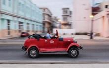 Cruising on the Malecon