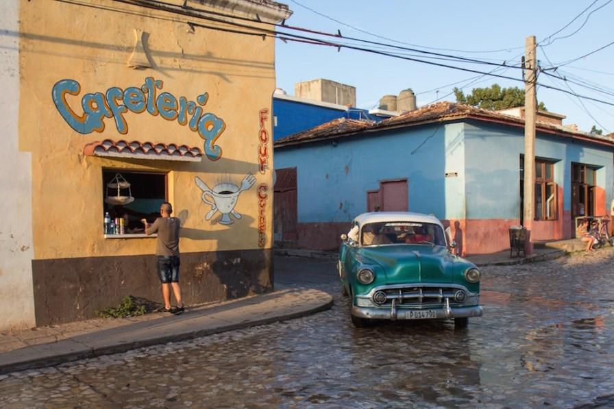 Classic Car in Trinidad