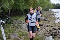 Victoria and Gemma, fellow adventure racers. Photo Andy Kirkland