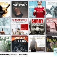 Good Egg Media Chiropractic Social Media Post Bundles (Facebook, Instagram, Google My Business), Chiropractic Poster Designs & Patient Education Materials