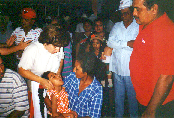 Paula Hedglon Panama 1998