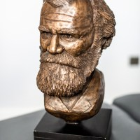 - D.D. Palmer portrait bust - Made to order. Numbered editions. Ships worldwide.