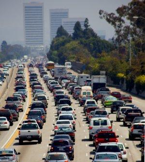 405 freeway in Los Angeles