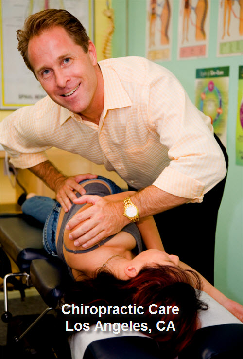 Chiropractic Care Los Angeles California