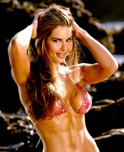 Fitness Model and Actress Christina Lindley