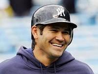 New York Yankees Johnny Damon