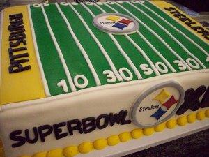 Pittsburgh Steelers Superbowl Cake