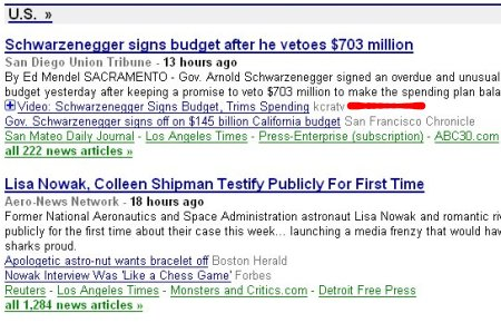 Google News embedding video
