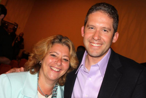 Chiropractors Sharon Gorman & Liam Schubel