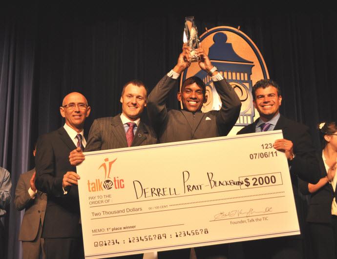 Derrell Pratt-Blackburn Talk the TIC Champion