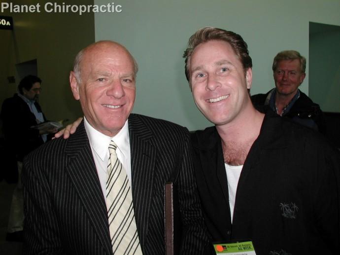 Barry Diller and chiropractor Michael Dorausch