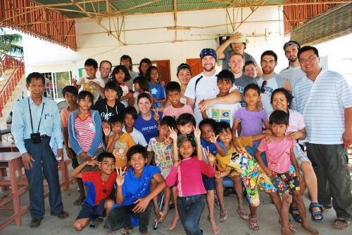 cambodia chiropractic mission trip 2009