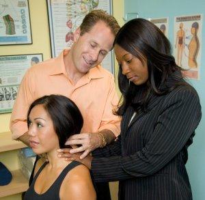 Chiropractors in practice
