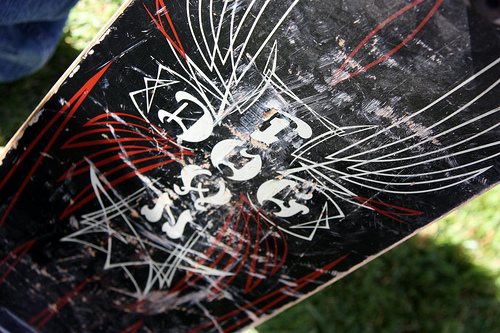 dogtown skateboard deck