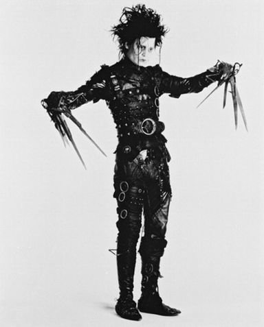unless the only thing your chiropractor is doing on halloween is shredding old patient files the edward scissorhands costume is probably not the best