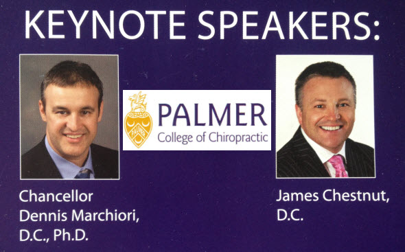 Keynote Speakers Dennis Marchiori James Chestnut