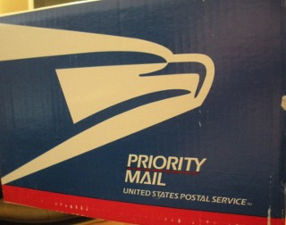US Postal Service Priority Mail Packaging