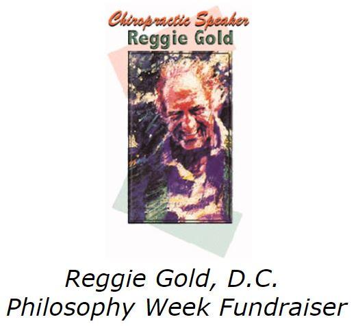 reggie gold philosophy fundraiser