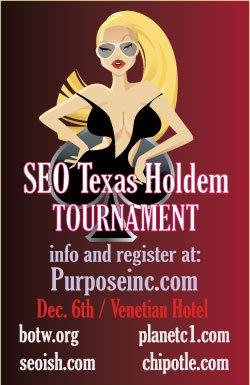 seo texas holdem tournament 2007