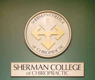 Sherman College of Chiropractic Seal