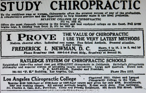 Study Chiropractic in Los Angeles
