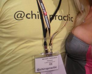DP Chiropractic - Twitter T-Shirt