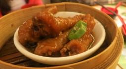 Steamed Chicken Feet with Black Bean Sauce