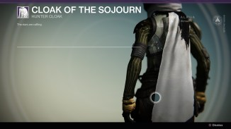 Cloak of the Sojourn