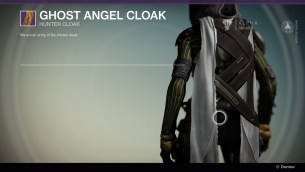 Ghost Angel Cloak