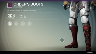 Order's Boots