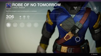 Robe of No tomorrow