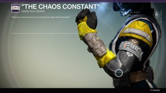 The Chaos Constant