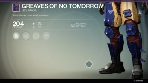 Greaves of no tomorrow