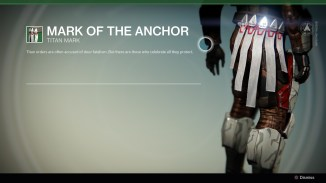 Mark of the anchor