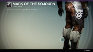 Mark of the Sojourn